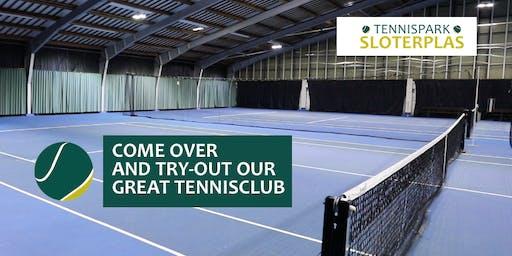 Tennis Try-out, Tennispark Sloterplas