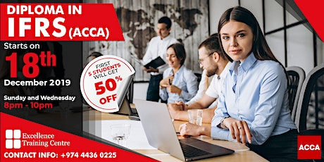 Diploma in IFRS (ACCA) tickets