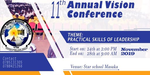 11th Vision Conference Kigali