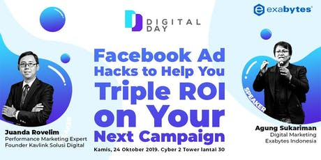 Facebook Ad Hacks to Help You Triple ROI on Your Next Campaign tickets