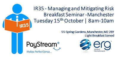 Breakfast Seminar: Preparing for IR35 - Managing and Mitigating Risk