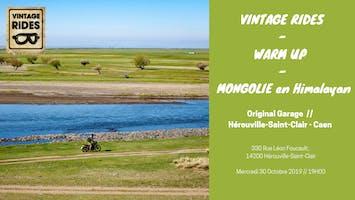 Warm up Caen : Mongolie en RE Himalayan X Vintage Rides