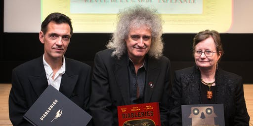Diableries: Stereoscopic Adventures in Hell: a talk by Dr Brian May, Denis Pellerin and Paula Fleming