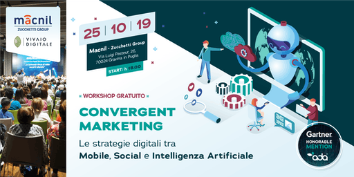 Gravina in Puglia (BA) - Workshop sul Convergent Marketing