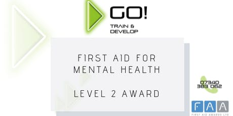 First Aid for Mental Health RQF Level 2 Award - Bolton tickets