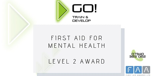 First Aid for Mental Health RQF Level 2 Award - Bolton