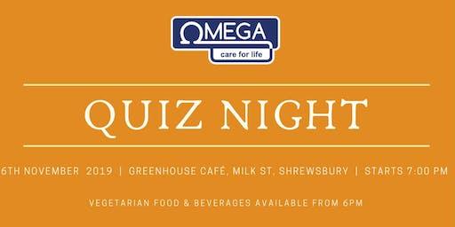 Omega November Quiz Night