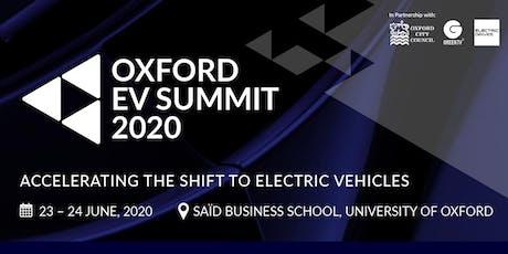 The Oxford EV Summit 2020 tickets