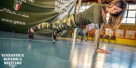 Presentazione del Corso & Lezione Gratuita di Ginnastica Dinamica Militare biglietti