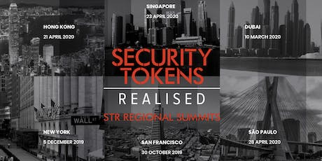 Security Tokens Realised Global Summit London tickets