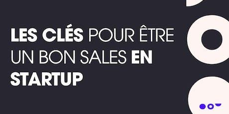 Rendez-vous métier elinoï : les clés pour être un bon Sales en startup billets