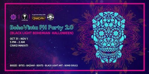 BohoVinta PH Party 2.0 (Black Light Bohemian Halloween)