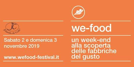 We-Food 2019 @ Jolanda De Colò biglietti