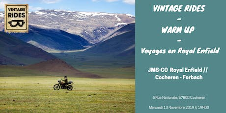 Warm up Cocheren - Forbach : Voyages en Royal Enfield X Vintage Rides Tickets