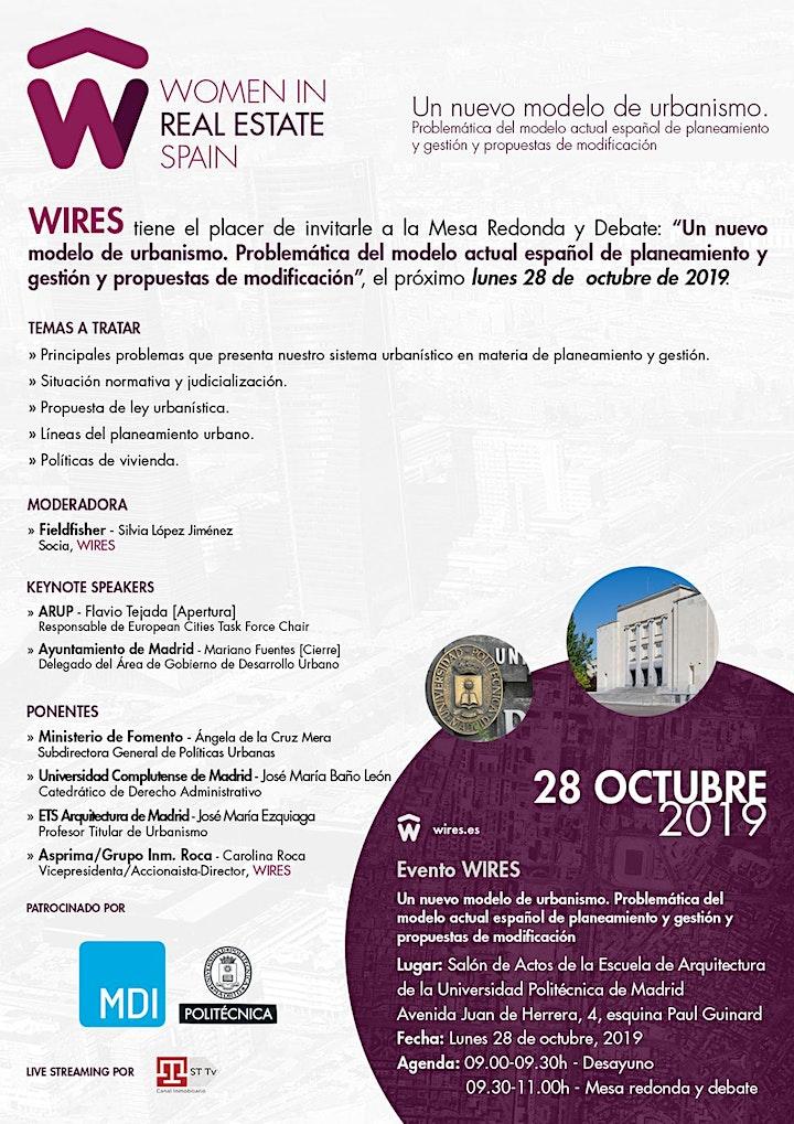 Imagen de Mesa Redonda y Debate WIRES Madrid: Un nuevo model