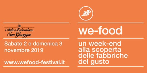 We-Food 2019 @ Antico Laboratorio San Giuseppe