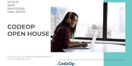 CodeOp Open House entradas