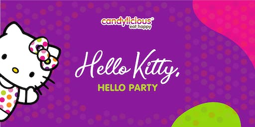Be a part of Hello Kitty's supercute world at Candylicious!