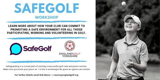 SafeGolf Workshop - Sitwell Park Golf Club