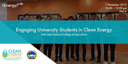 Engaging University Students in Clean Energy - PNCA