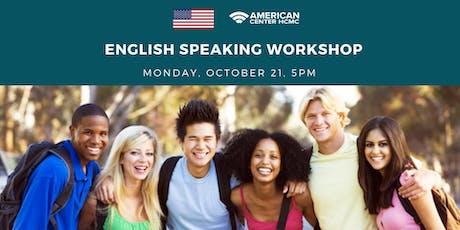 English Speaking Workshop tickets