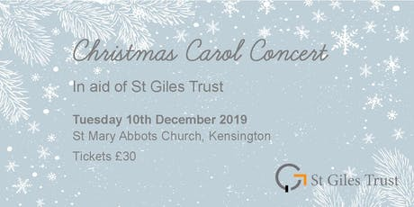 Credit Suisse Carol Concert in support of St Giles Trust tickets