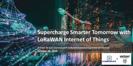 Supercharge Smarter Tomorrow with LoRaWAN Internet of Things tickets