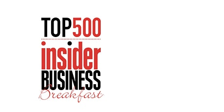 The Business Insider Top 500 Business Breakfast 2020 tickets