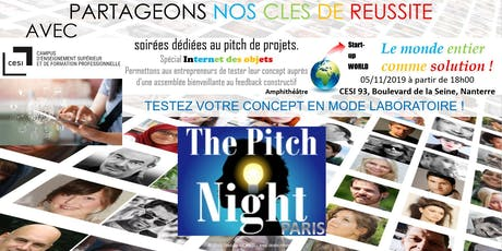 "Pitch night Paris spécial ""IOT"" billets"