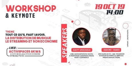 Workshop & Keynote : Distribution de Musique et Ec billets