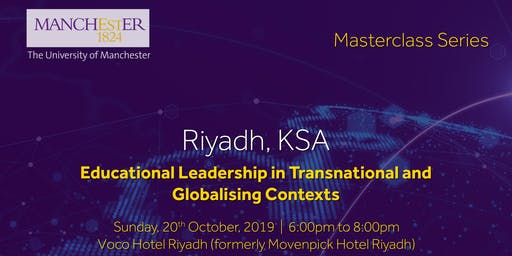 Masterclass: Educational Leadership in Transnational & Globalising Context