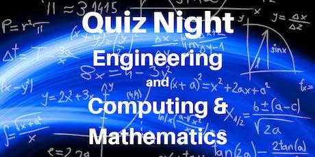 Quiz Night: Engineering and Computing & Mathematics tickets