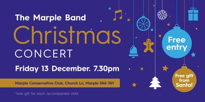 The Marple Band Christmas Concert