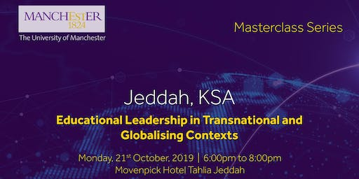 Masterclass: Educational Leadership in Transnational & Globalising Context