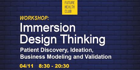 Workshop: Immersion Design Thinking in Healthcare entradas