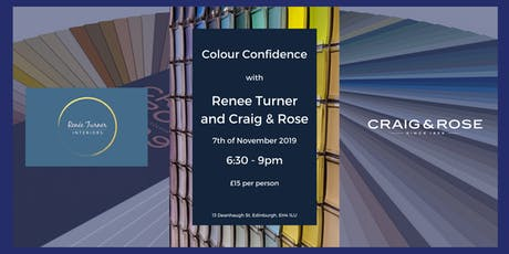 Colour Confidence with Renee Turner Interiors and Craig and Rose Paints tickets