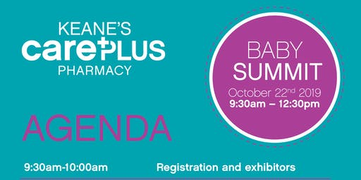 The Baby Summit - New Paediatric Health Event With Keanes CarePlus Pharmacy