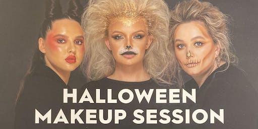 Glamoween Make Up Masterclasses at Debenhams Blackpool