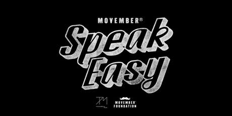 Movember SpeakEasy tickets