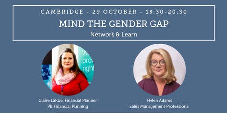 Network & Learn: Mind The Gender Gap tickets