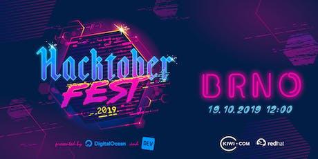 Hacktoberfest Brno tickets