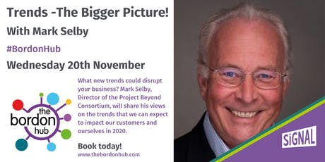 Trends - The Bigger Picture! With Mark Selby tickets