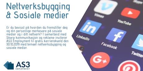 Karrierekveld - Nettverksbygging & Sosiale medier tickets