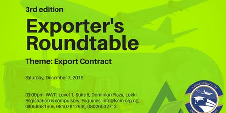 Exporter's Roundtable tickets