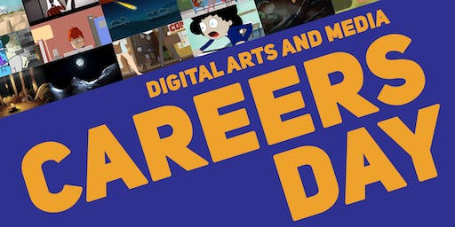 Game Art/Design, Animation, Creative Media & Visual Effects Industry Careers Days