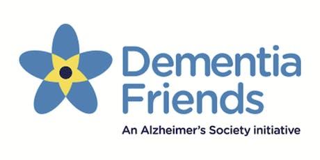 Sesiwn Ffrindiau Dementia / Dementia Friends Session tickets