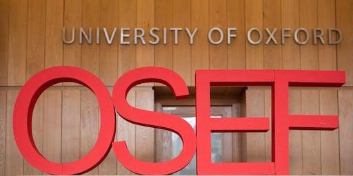 Oxford Saïd Entrepreneurship Forum (OSEF) ISfB ticket application