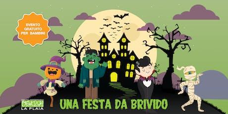 Una festa da brivido - Halloween Party in maschera per bambini biglietti