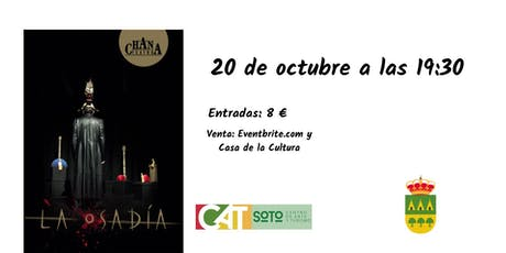 """Teatro de objetos """"La Osadía"""" entradas"""