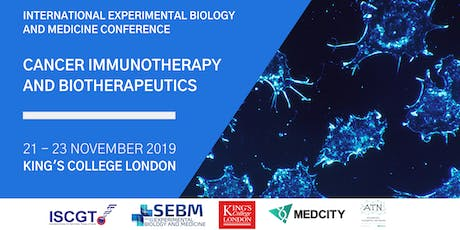 Cancer Immunotherapy & Biotherapeutics Conference tickets